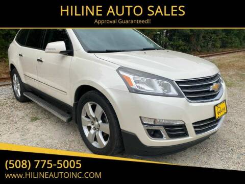 2013 Chevrolet Traverse for sale at HILINE AUTO SALES in Hyannis MA