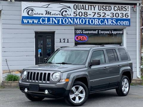 2011 Jeep Patriot for sale at Clinton MotorCars in Shrewsbury MA