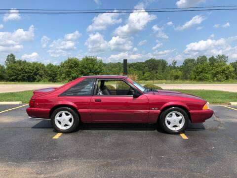 1993 Ford Mustang for sale at Fox Valley Motorworks in Lake In The Hills IL