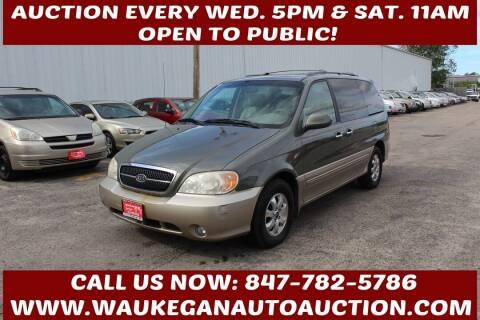 2004 Kia Sedona for sale at Waukegan Auto Auction in Waukegan IL