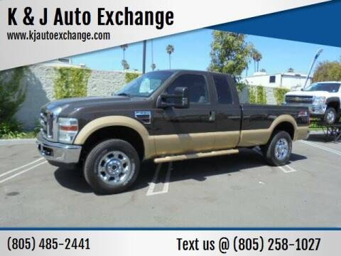 2008 Ford F-250 Super Duty for sale at K & J Auto Exchange in Santa Paula CA