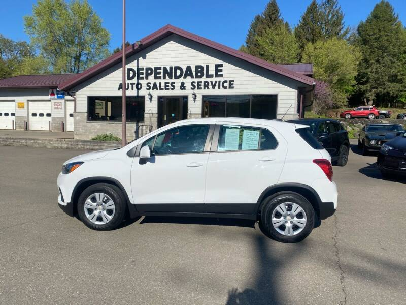 2018 Chevrolet Trax for sale at Dependable Auto Sales and Service in Binghamton NY