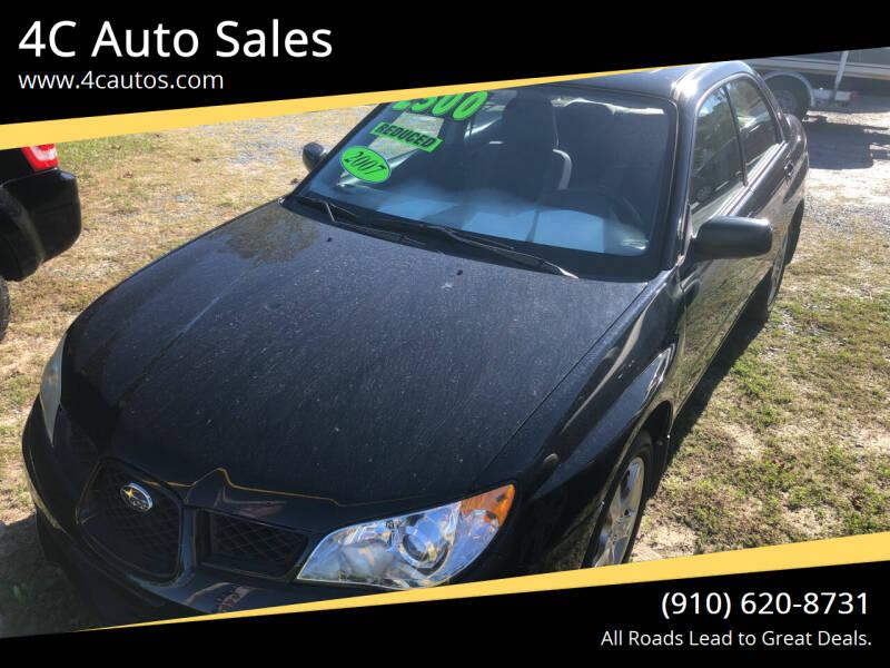 2007 Subaru Impreza for sale at 4C Auto Sales in Wilmington NC