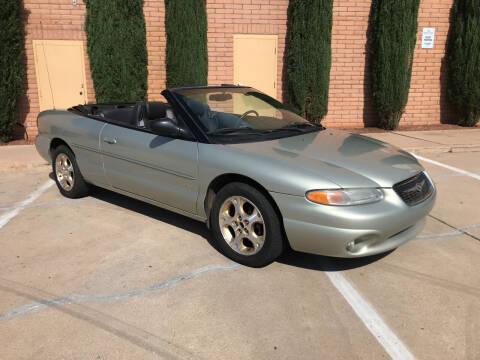 1999 Chrysler Sebring for sale at Freedom  Automotive in Sierra Vista AZ