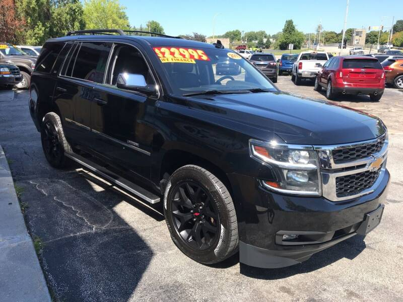 2016 Chevrolet Tahoe for sale at Suarez Auto Sales in Port Huron MI