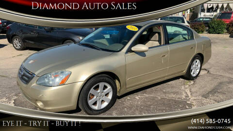 2003 Nissan Altima for sale at Diamond Auto Sales in Milwaukee WI