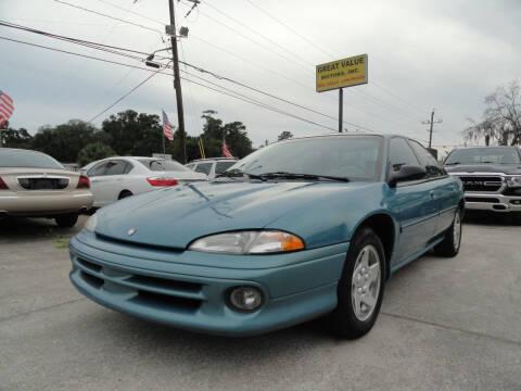 1997 Dodge Intrepid for sale at GREAT VALUE MOTORS in Jacksonville FL