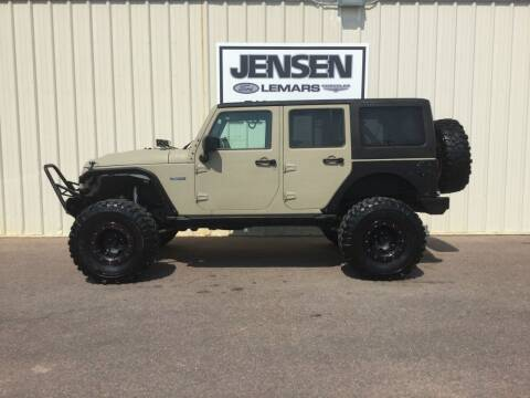 2017 Jeep Wrangler Unlimited for sale at Jensen's Dealerships in Sioux City IA