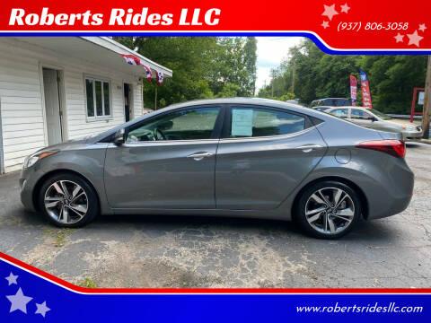 2014 Hyundai Elantra for sale at Roberts Rides LLC in Franklin OH