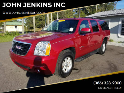 2014 GMC Yukon XL for sale at JOHN JENKINS INC in Palatka FL