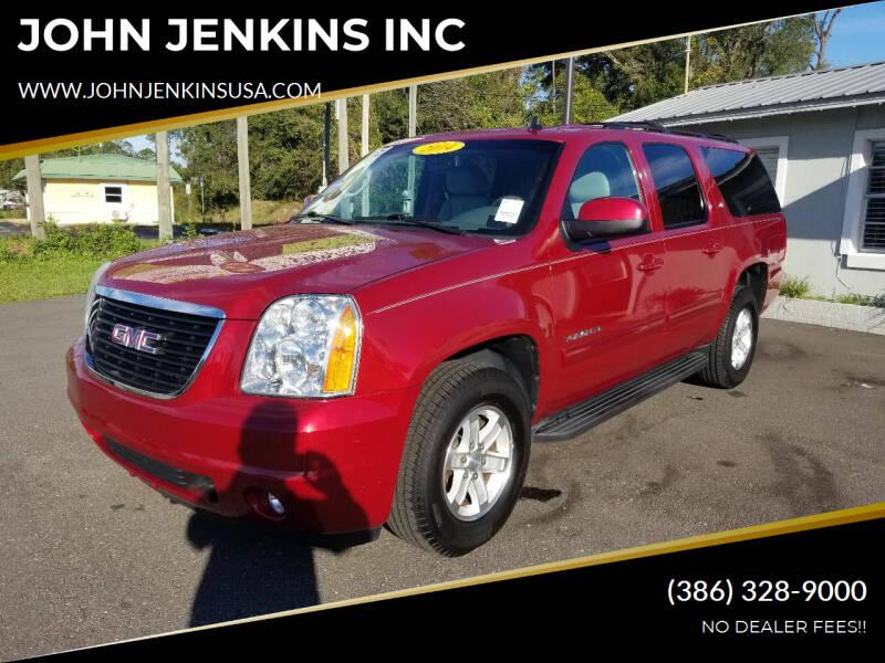 2014 GMC Yukon XL for sale at JOHN JENKINS INC in Palatka FL