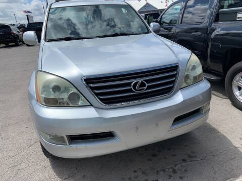 2006 Lexus GX 470 for sale at BULLSEYE MOTORS INC in New Braunfels TX