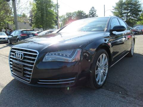 2013 Audi A8 for sale at PRESTIGE IMPORT AUTO SALES in Morrisville PA
