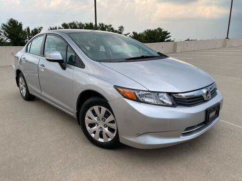 2012 Honda Civic for sale at Car Match in Temple Hills MD