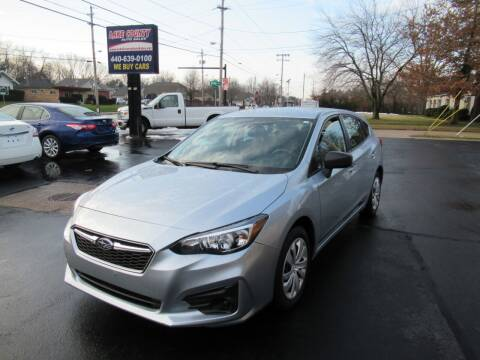 2017 Subaru Impreza for sale at Lake County Auto Sales in Painesville OH