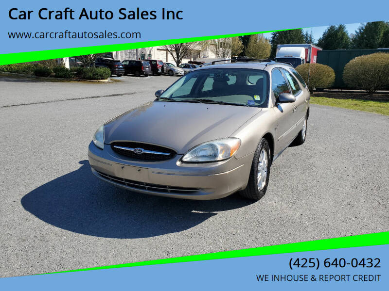 2003 Ford Taurus for sale at Car Craft Auto Sales Inc in Lynnwood WA