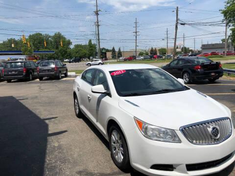 2012 Buick LaCrosse for sale at Drive Max Auto Sales in Warren MI
