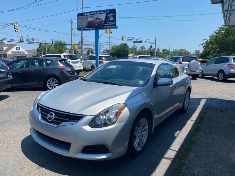 2010 Nissan Altima for sale at Union Avenue Auto Sales in Hazlet NJ