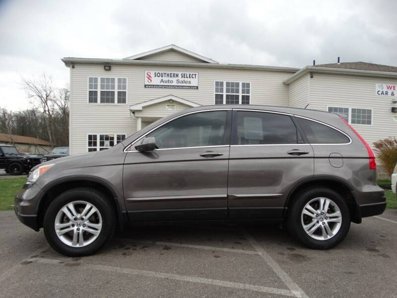 2010 Honda CR-V for sale at SOUTHERN SELECT AUTO SALES in Medina OH