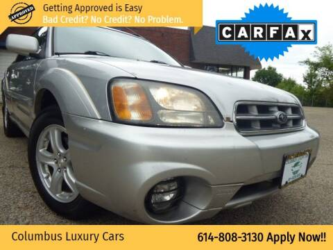 2003 Subaru Baja for sale at Columbus Luxury Cars in Columbus OH