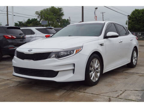 2016 Kia Optima for sale at Credit Connection Sales in Fort Worth TX