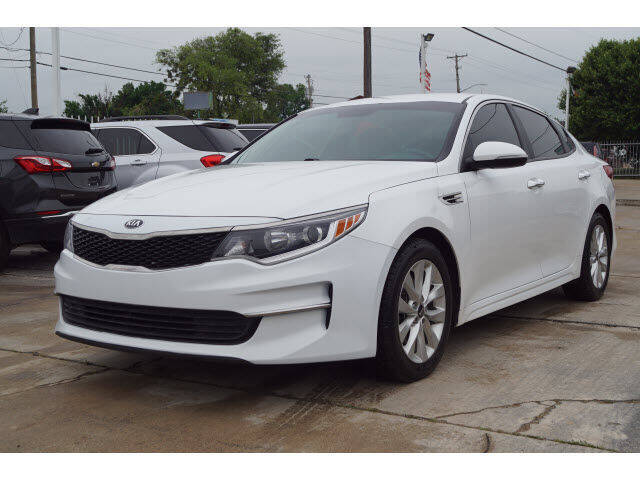 2016 Kia Optima for sale at Watson Auto Group in Fort Worth TX