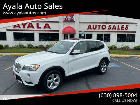 2011 BMW X3 for sale at Ayala Auto Sales in Aurora IL