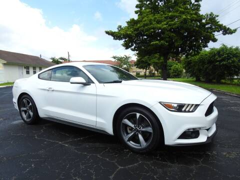 2015 Ford Mustang for sale at SUPER DEAL MOTORS 441 in Hollywood FL