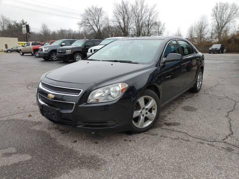 2011 Chevrolet Malibu for sale at Cruisin' Auto Sales in Madison IN