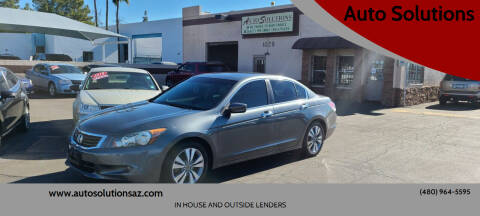 2008 Honda Accord for sale at Auto Solutions in Mesa AZ