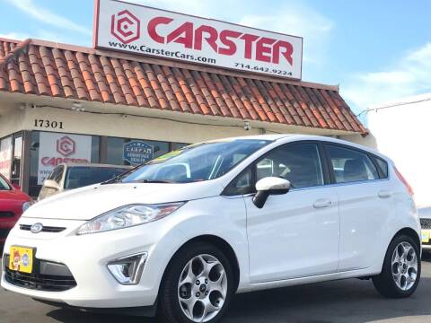 2011 Ford Fiesta for sale at CARSTER in Huntington Beach CA