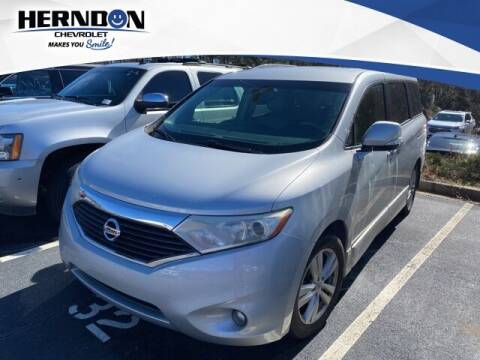2014 Nissan Quest for sale at Herndon Chevrolet in Lexington SC