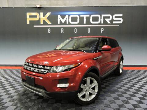 2014 Land Rover Range Rover Evoque for sale at PK MOTORS GROUP in Las Vegas NV