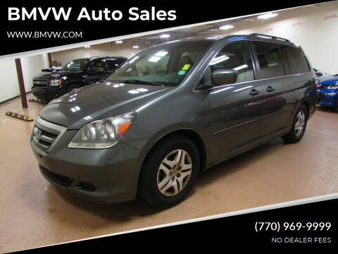 2007 Honda Odyssey for sale at BMVW Auto Sales in Union City GA