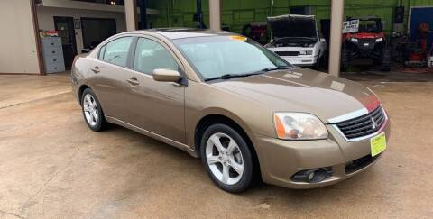 2009 Mitsubishi Galant for sale at JORGE'S MECHANIC SHOP & AUTO SALES in Houston TX