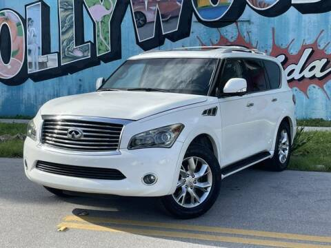 2012 Infiniti QX56 for sale at Palermo Motors in Hollywood FL