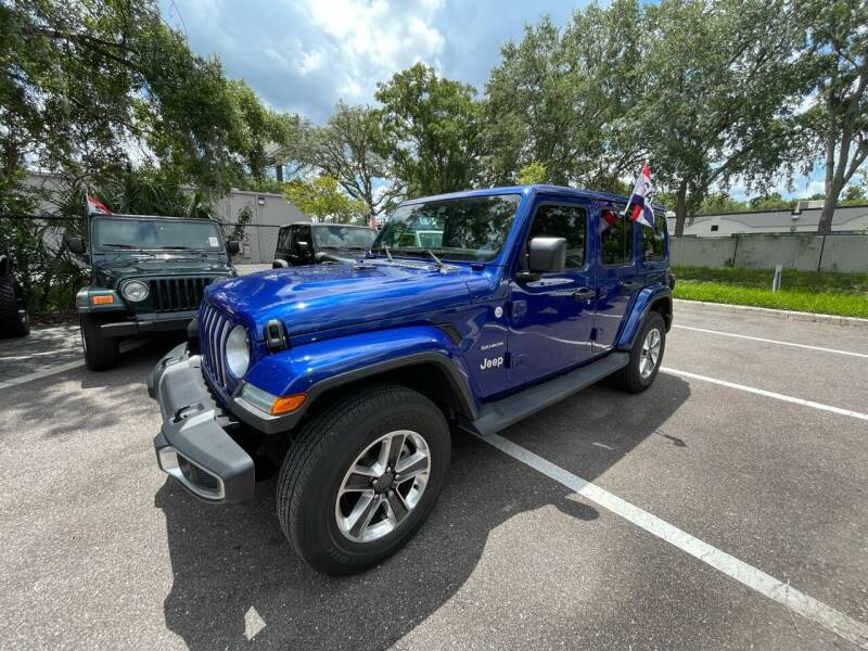 2018 Jeep Wrangler Unlimited for sale at Bay City Autosales in Tampa FL