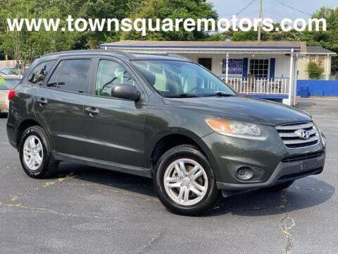 2012 Hyundai Santa Fe for sale at Town Square Motors in Lawrenceville GA