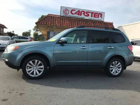 2011 Subaru Forester for sale at CARSTER in Huntington Beach CA