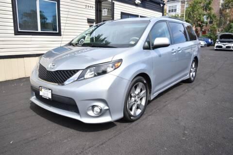 2014 Toyota Sienna for sale at ZIPMOTOR.COM in Arlington VA