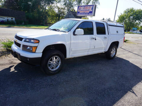 2012 Chevrolet Colorado for sale at Colonial Motors in Mine Hill NJ