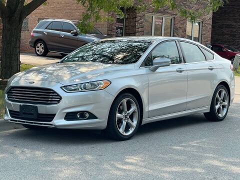 2013 Ford Fusion for sale at Schaumburg Motor Cars in Schaumburg IL