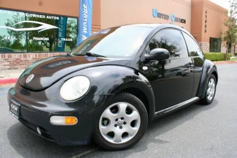 2003 Volkswagen New Beetle for sale at CK Motors in Murrieta CA