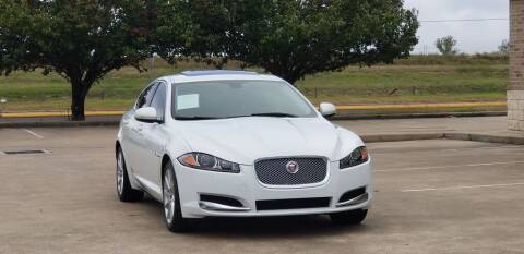 2014 Jaguar XF for sale at America's Auto Financial in Houston TX