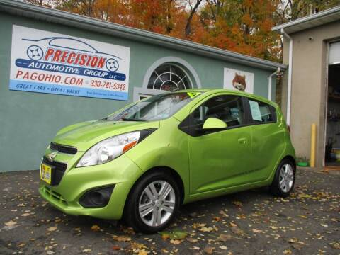 2013 Chevrolet Spark for sale at Precision Automotive Group in Youngstown OH