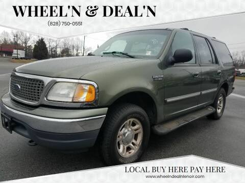2001 Ford Expedition for sale at Wheel'n & Deal'n in Lenoir NC