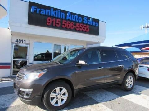 2013 Chevrolet Traverse for sale at Franklin Auto Sales in El Paso TX