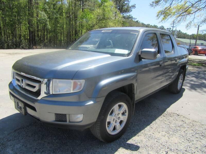 2010 Honda Ridgeline for sale at Bullet Motors Charleston Area in Summerville SC