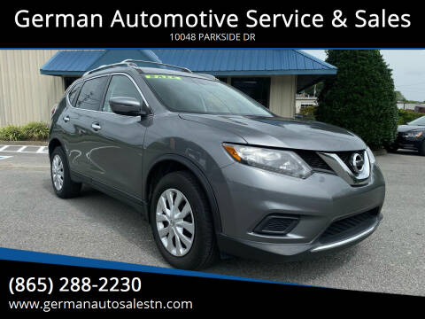 2016 Nissan Rogue for sale at German Automotive Service & Sales in Knoxville TN
