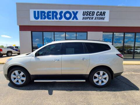 2016 Chevrolet Traverse for sale at Ubersox Used Car Superstore in Monroe WI